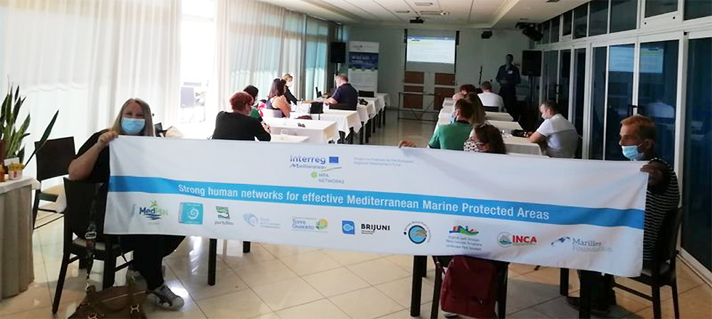 1st meeting of Croatian MPA managers to discuss the creation of a network