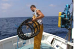FishMPABlue2 Project: experimental fishing campaigns with traps in the Strait of Bonifacio Natural Reserve